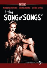 The Song of Songs 1933 (DVD) Marlene Dietrich, Brian Aherne, Lionel Atwill - New