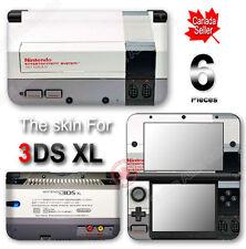 NES Classic Edition Retro System Skin Sticker Cover for Original Nintendo 3DS XL