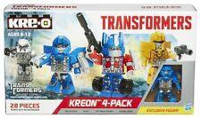 Kreo kre-o universal studio exclusive with optimus prime megatron bumblebee evac