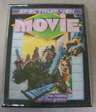 "Vintage Spectrum 48k 1984 Cassette Video Game Movie Illustration 4"" X 5.5"""
