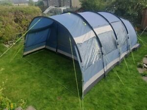 Outwell Tent Montana 6 Man Person Family Tent Sun Valley 6 Blue