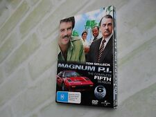 MAGNUM P.I. THE COMPLETE FIFTH SEASON 5 - REGION 4 PAL - 6 DISC DVD SET
