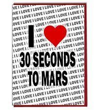 Carte de Vœux - Carte D'Anniversaire - I Love 30 Seconds To Mars