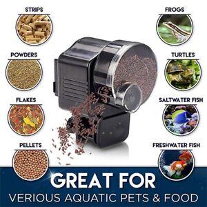 Automatic Fish Food Feeder Timer For Aquarium Tank Pond Flake Pellet Feeding