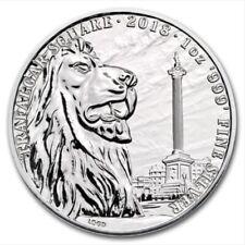 Landmarks of Britain Trafalgar Square Royal Mint coin 2018 1oz 999 silver