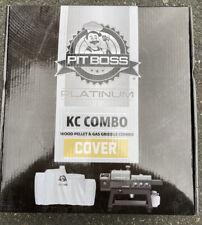 Pit Boss Platinum KC Combo Grill Cover, Fits KC Combo Platinum Series 73301 NIB