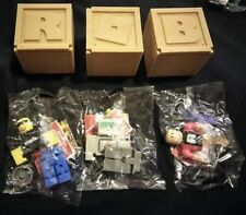 ROBLOX BLIND BOX BAG - ***SERIES 2*** - LOT OF 3 FIGURES - 2017
