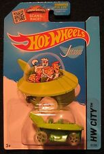 Hot Wheels Green The Jetsons Capsule Car Diecast HW City 57/250 New 2013
