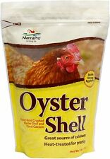 Oyster Shell,Contains Crushed Pullet Size Oyster Shell Coral Calcium ,5-Pounds