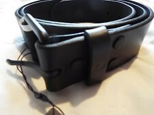 BNWT FRED PERRY LEATHER BELT size-36 inches in black