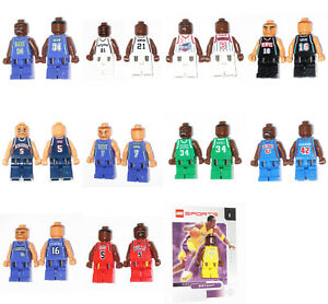 Lego® FIGUREN Sport NBA BASKEBALL Figur Baskeballspieler TOP NEU !