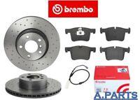 BREMBO XTRA BREMSENSATZ GELOCHT WK  328mm VORNE BMW X3 X4 F25 F26 PERFORMANCE