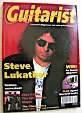 GUITARIST Sept 1994 Steve Lukather Wildhearts Slayer Chet Atkins Gibson BC Rich