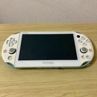 [Exc] Sony PS Vita Light Blue Slim PCH-2000  From JP choose with a memory card