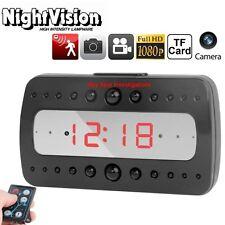 Spy Spot Hd Night Vision Motion Activated Surveillance Alarm Clock Hidden Camera