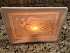 Lamp Electric Porcelain Religious Angel Accent Lamp Nite Light