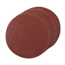 10 Pack 125mm Mixed Grits Aluminium Oxide Round Sanding Sheet Discs Hook Loop