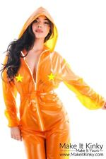 PVC Overalls / Plastic Suit - Jacket - Rain Coat - Shiny PVCULIKE