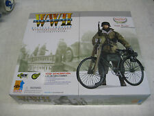 "1/6 Scale Dragon - WWII GERMAN ""Jupp Bauer"" 12 inch Figure & Bike / MIB / RARE !"