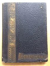 1931 MORRISON WAITE HIGH SCHOOL YEARBOOK, THE PURPLE & GOLD, TOLEDO, OH