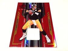 Ben Roethlisberger 2005 Leaf Rookies & Stars Red Refractor Jersey Card #/199
