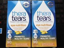180 caps TheraTears Nutrition Dry-Eye Relief Capsules [Omega-3 Supplement] 08/20
