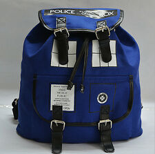 Doctor Who Tardis Buckle Slouch Bag Purse Police Box Dr Who Backpack Hot Selling