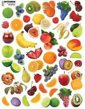 Aufkleber Sticker Wandaufkleber Wandsticker Deko Obst Frucht Früchte Fruit Küche