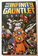 Infinity Gauntlet Starlin Perez Lim Marvel Graphic Novel Comic Book