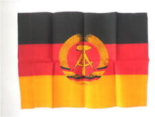 socialist communist East german DDR GDR Flag with state emblem from the eighties