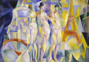 Robert Delaunay Relief Rythms Poster Reproduction Paintings Giclee Canvas Print