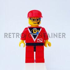 LEGO Minifigures - 1x div011 - Diver - Divers Vintage Omino Minifig Set 6442