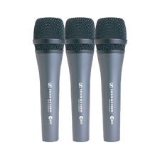 Sennheiser e835 Handheld Vocal Cardioid Microphone 3Pack with Case & Clip Holder
