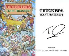 Terry Pratchett~Truckers~Signed~Bromeliad~1st/1st~UK~Cover Art by Josh Kirby!