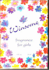 WINSOME GIRLS PERFUME KIDS ROLL ON FRAGRANCE GIFT MADE USA TRAVEL BASKET USA