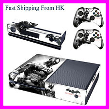 Batman Arkham City decal Stickers For Xbox One (Console Kinect 2 Controllers)