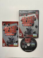 Metal Slug Anthology (Sony PlayStation 2, 2007) COMPLETE! SNK Playmore PS2