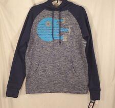 STAR WARS Hoodie Men's Small Sweatshirt DEATH STAR Disney Blue Rogue One New $50