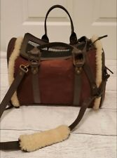 Genuine Ugg Australia Sherpa Lined Luxury Small Pet Carrier - Airline Approved