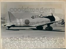 1972 Replica of Japanese Aichi D3A Val Dive Bomber Plane WWII Press Photo