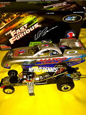 NHRA WHIT BAZEMORE 1:24 Milestone FAST and the FURIOUS Diecast NITRO Funny Car
