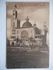 "CPA ""Exposition universelle de Bruxelles 1910 - Le palais de  Monaco"" *"
