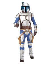 """Star Wars Mens Jango Fett Costume, Std,CHEST 44"""",WAIST 30-34"""",INSEAM 33"""""""