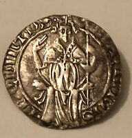 HN AVIGNONE Papa Martino V 1417-31 grosso Ag BB-SPL R  sp272