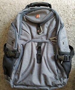 SWISS Gear Airflow Scan Smart Padded Laptop Travel Backpack