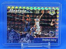 New Listing2019/20 Stephen Curry Mosaic Montage Mosaic Prizm Golden State Warriors Kk
