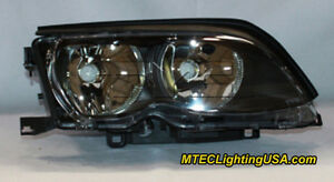 TYC Right Side Halogen Headlight Lamp Assembly for BMW E46 3 Series 2002-2005