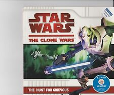 STAR WARS CLONE WARS THE HUNT FOR GRIEVOUS BOOK