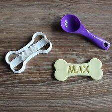 Custom Dog Bone Cookie Cutter Personalized Treat Clear