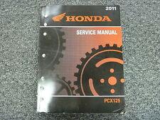 2011 Honda Model PCX125 Motor Scooter Motorcycle Shop Service Repair Manual